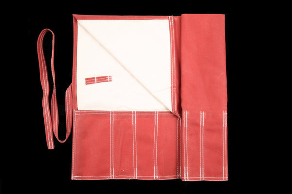 My Knife Bag Red Wax/Ivory