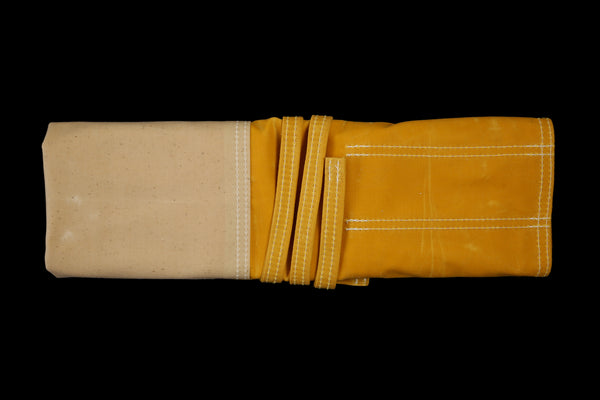 My Knife Bag Yellow/Ivory (Waxed)