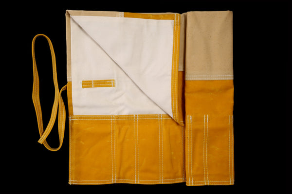 My Knife Bag Yellow Wax/Ivory
