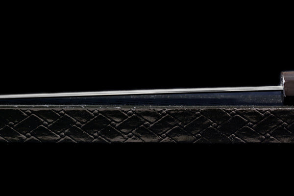 Gesshin Kagekiyo 270mm White #2 Mizu-Honyaki Wa-Gyuto with Black Saya and Ebony Handle