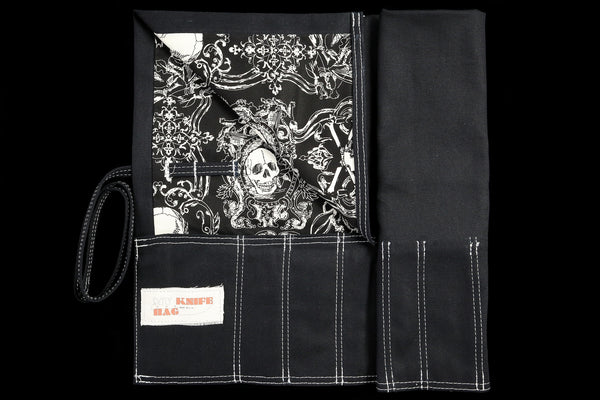 My Knife Bag Black/Skull