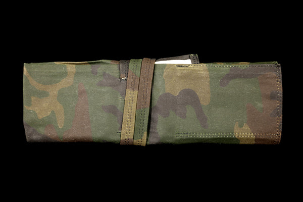 My Knife Bag Camouflage/Ivory (Waxed)
