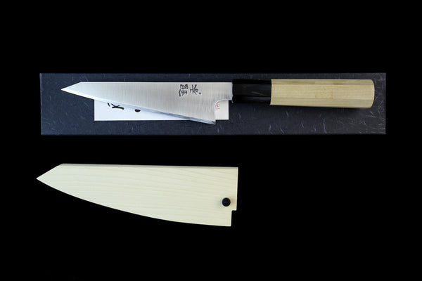 Gesshin Ginga 150mm Stainless Left-Handed Wa-Honesuki