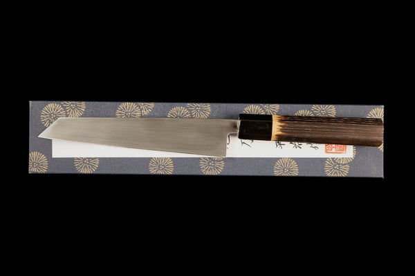 Gesshin Heiji 180mm Semi-Stainless Wa-Honesuki