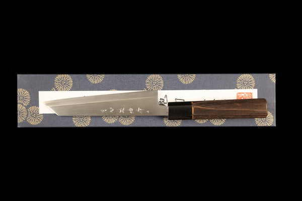 Gesshin Heiji 150mm Semi-Stainless Wa-Honesuki