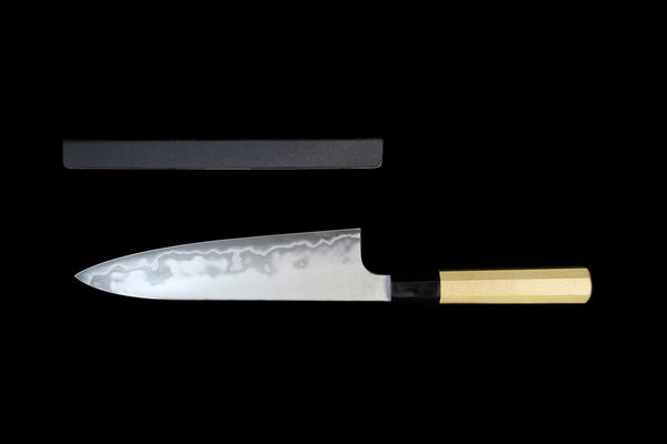 Ginrei 52100 Stainless Clad Carbon 210mm Wa-Gyuto