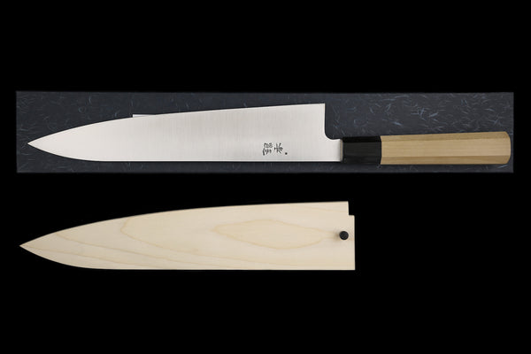 Gesshin Ginga 270mm Stainless Wa-Gyuto