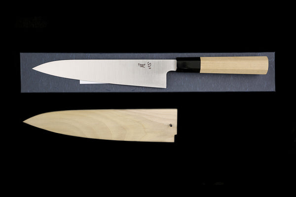 Gesshin Ginga 210mm Stainless Wa-Gyuto