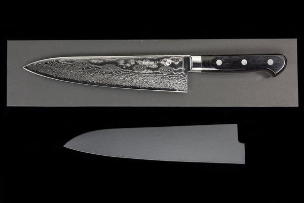 Bontenunryu 210mm Stainless Damascus Gyuto