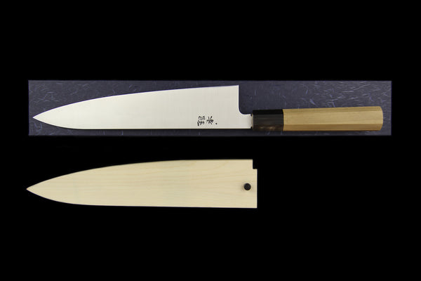 Gesshin Ginga 240mm Stainless Wa-Gyuto