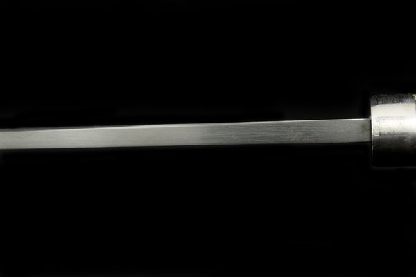 Jin 170mm High Speed Steel Deba with Saya D-13