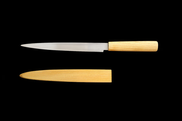 Jin 210mm High Speed Steel Ko-Yanagiba with Saya P-46