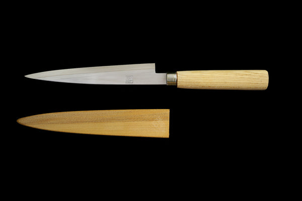 Jin 205mm High Speed Steel Ko-Yanagiba with Saya P-54