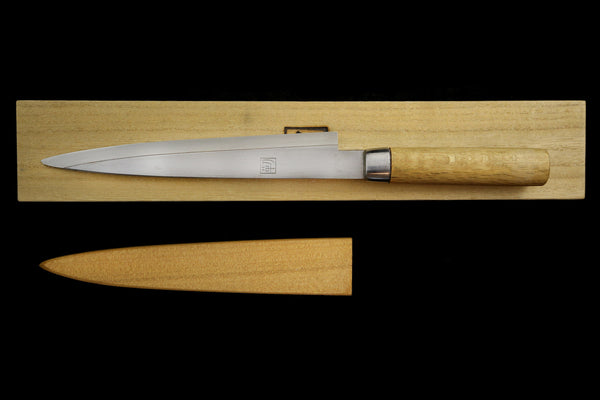 Jin 210mm High Speed Steel Ko-Yanagiba with Saya P-63