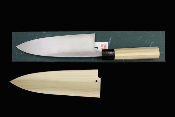 Gesshin Uraku 210mm White #2 Left-Handed Deba