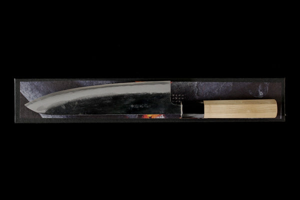 Zakuri 210mm Blue Super Kurouchi Wa-Gyuto