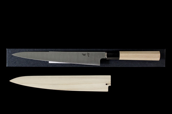 Gesshin Ginga 240mm White #2 Wa-Sujihiki