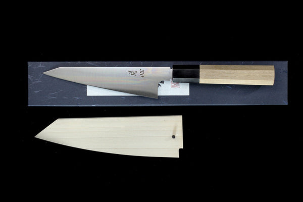 Gesshin Ginga 150mm White #2 Wa-Honesuki