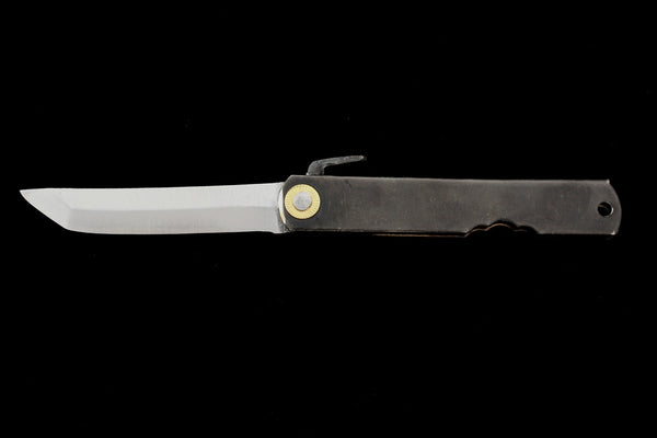 Kensaki Folding Knife- Black Handle
