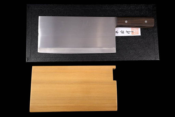 Gesshin Heiji 220mm Semi-Stainless Chinese Cleaver