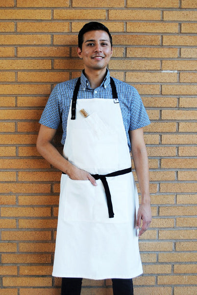 Cork District Apron White