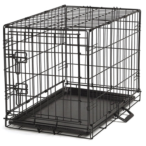 ProSelect Easy Dog Crates for Dogs and Pets - Black-Crate-ProSelect-M/L-Pet Crates Direct