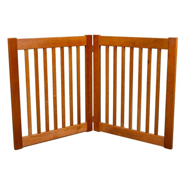 Amish Handcrafted Ez Free Standing Wood Gates Barriers