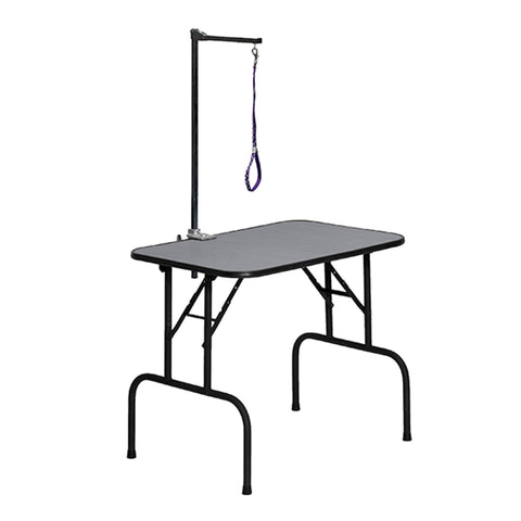 dog grooming 30x18x32 grooming table with arm