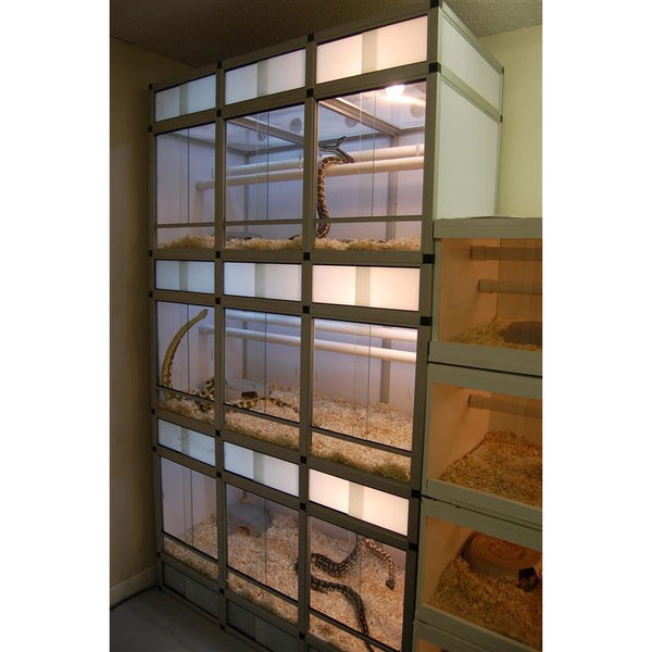 Euro Cage Reptile Display Unit Small Animal Zoo Med 2