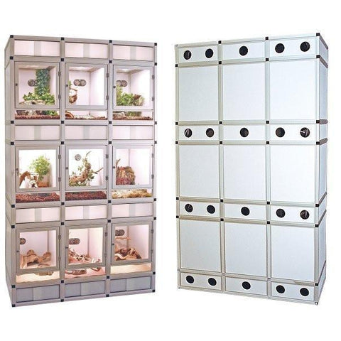 Euro-Cage Reptile Display Unit-small animal-Zoo Med-Pet Crates Direct