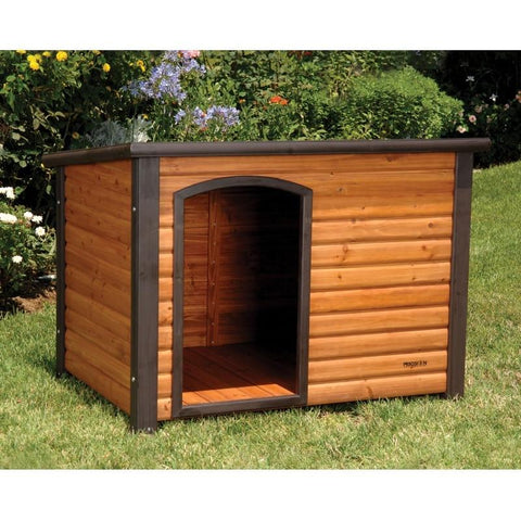 Precision Pet Products Extreme Outback Log Cabin Dog House Giant