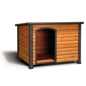 Extreme Outback Log Cabin Dog House-Furniture-Precision-Pet Crates Direct