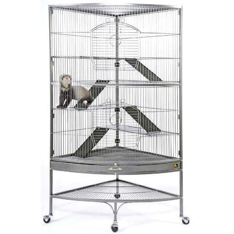 Giant Corner Ferret Cage-Cage-Prevue-Pet Crates Direct
