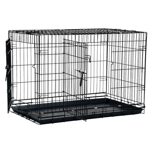 Great Crate Double Door-Crate-Precision-xsmall - 19 L x 12 W x 15 H-Pet Crates Direct