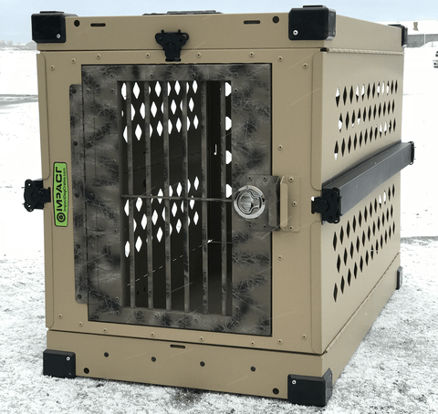 Impact Dog Crate with Camo Door