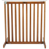 "Kensington Wood Slide Gates 30"" Tall-Barriers-Dynamic Accents-Small-Artisan Bronze-Pet Crates Direct"