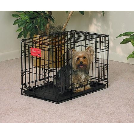 Life Stages Double Door Dog Crate-Crate-Midwest-1622DD - 22L x 13W x 16H-Pet Crates Direct