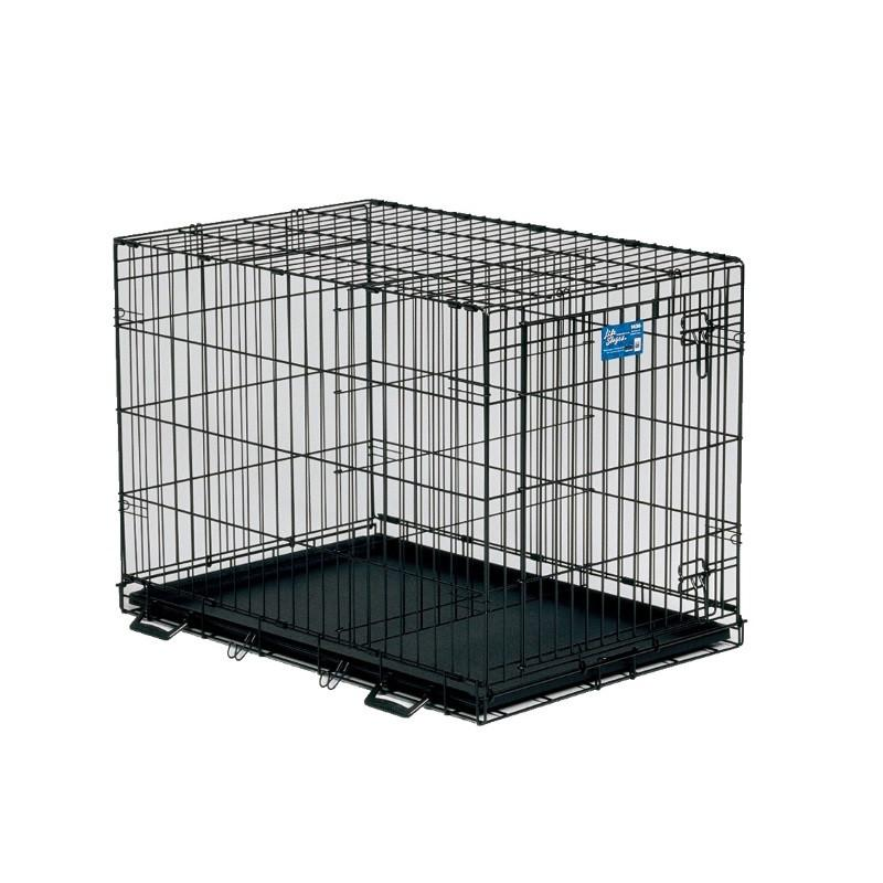 Life Stages Single Door Dog Crate Pet Crates Direct