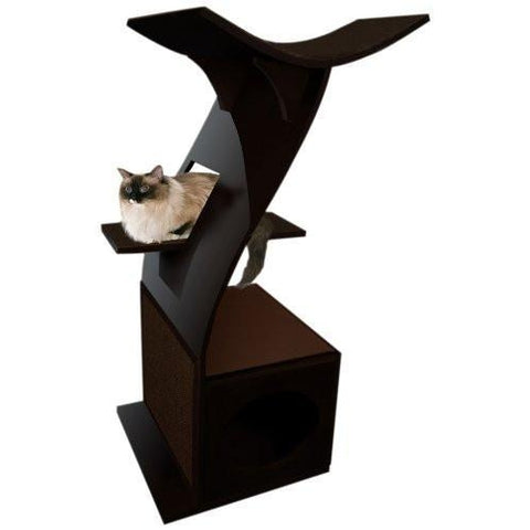 Lotus Cat Tower-cat-Lotus-Pet Crates Direct