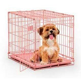 Midwest Fashion Puppy iCrate-Crate-Midwest-Pretty in Pink-Pet Crates Direct