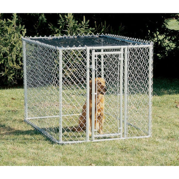Midwest K 9 Chain Link Dog Kennel Barriers Midwest K9644 6