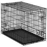 Midwest Solution Series Side by Side Dog Crate-Crate-MidWest-SL36SUV - 36L x 21W x 26H-Pet Crates Direct