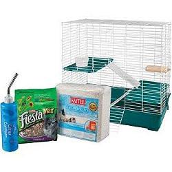 My First Home Fiesta Chinchilla Cage and Starter Kit-Cage-Super Pet-Pet Crates Direct