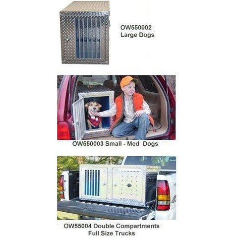 owens aluminum dog boxes for trucks k9 transport series knockdown series crateowens