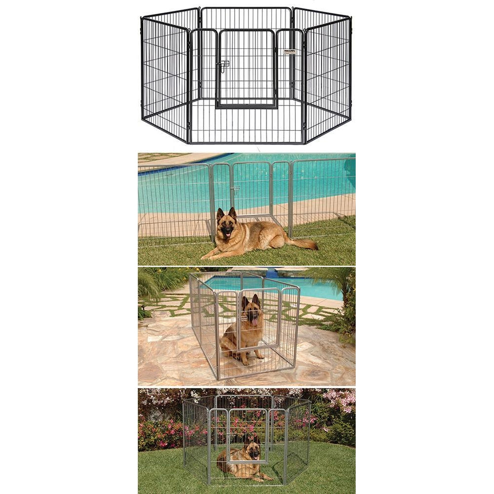 Precision Courtyard Dog Kennel Pet Crates Direct