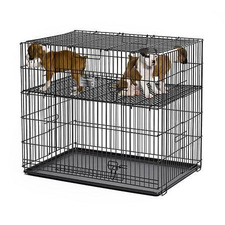 "Midwest Puppy Playpen-Crate-Midwest-24 L x 36 W x 30 H-224-05 - playpen with 1/2"" grid-Pet Crates Direct"