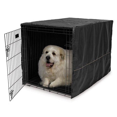 "Quiet Time Dog Crate Cover-Accessories-Midwest-fits 22"" models listed on sizes/specs tab-Pet Crates Direct"