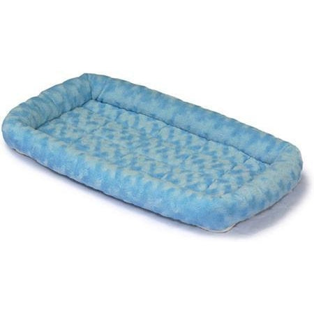 Quiet Time Fashion Dog Bed-Furniture-Midwest-xxsmall - 18 x 12-powder blue-Pet Crates Direct