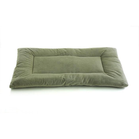 SleepEEZ Plush Dog Bed-Furniture-Pet Dreams-xsmall - 19 x 13-sage green-Pet Crates Direct