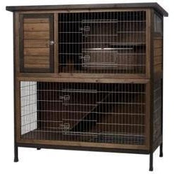 Super Pet Two Story Rabbit Hutch-small animal-Super Pet-Pet Crates Direct